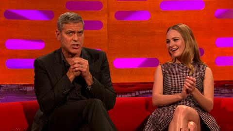 George Clooney's honeymoon at Comic Con - The Graham Norton Show: Series 17 Episode 7 - BBC One