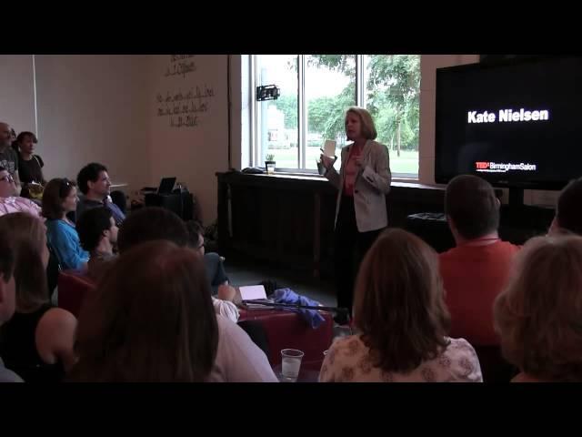 Be Civically Obsessed | Kate Nielsen | TEDxBirminghamSalon