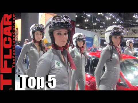 Top 5 New Cars From the LA Auto Show
