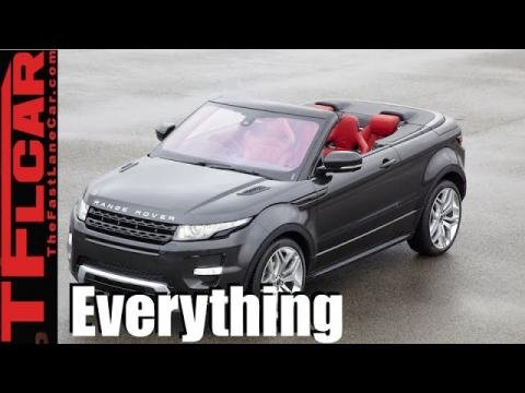2016 Range Rover Evoque Convertible: Everything You Ever Wanted to Know