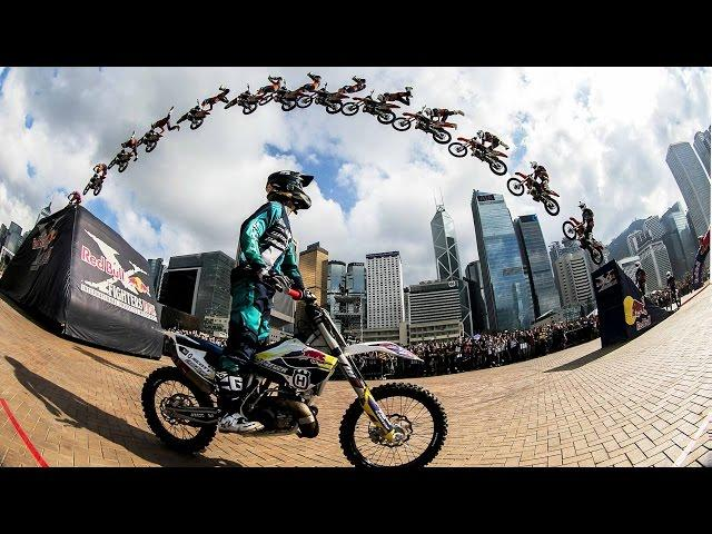 High Flying FMX Tricks in Hong Kong - Red Bull X-Fighters Jam 2015