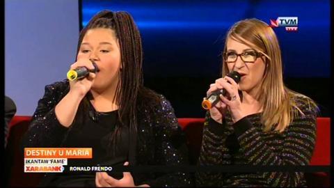 Destiny Chukunyere & Maria - Fame on Xarabank