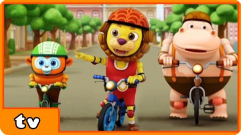 Boing The Play Ranger | Cartoons for Children | Episode 3: Bicycle Race By Cartoon Candy