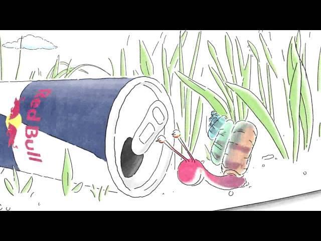 Šnek - Red Bull Commercial 2015
