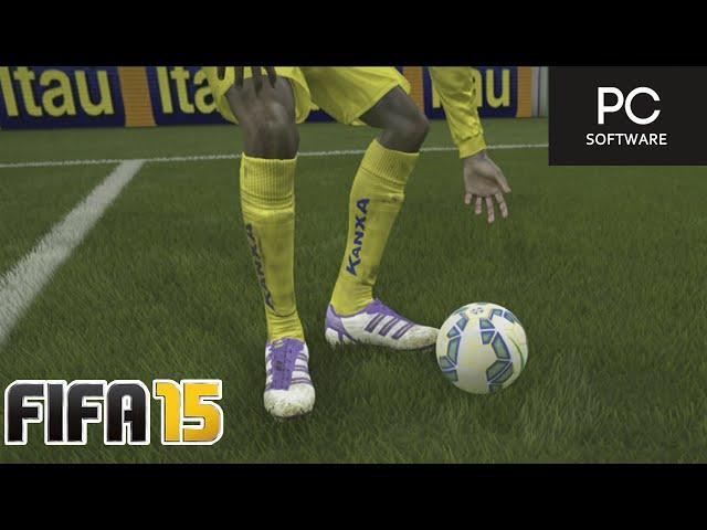 GOLEIRO SEM LUVA ??? - FIFA 15 - Modo Carreira Brasileirão #07 [PC]