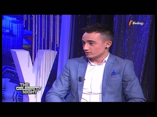 Franklin Calleja - Interviewed on The Celebrity Night