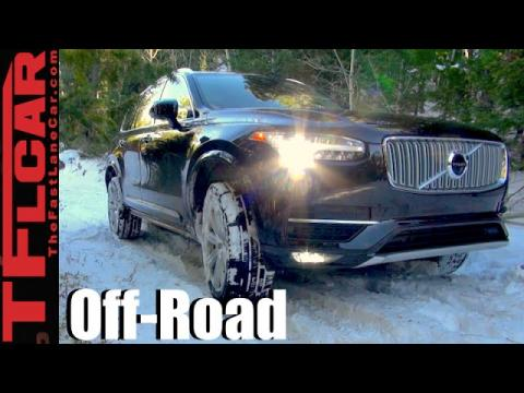 2016 Volvo XC90 T6 Snowy Off-Road Review: Will it Go in the Snow?