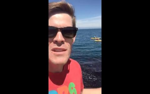 BIG BLUE LIVE | Joe Hanson at Breakwater Cove | PBS