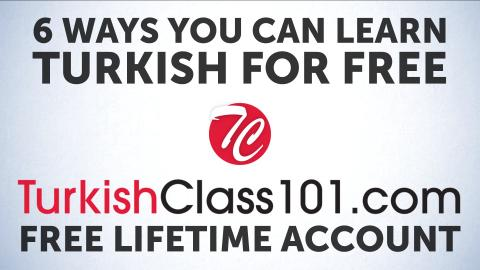 6 Free Features you Never Knew Existed at TurkishClass101