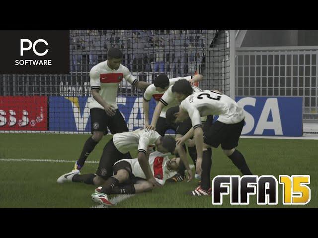 JOGAÇO PELA COPA DO BRASIL !!! - FIFA 15 - Modo Carreira Brasileirão #10 [PC]