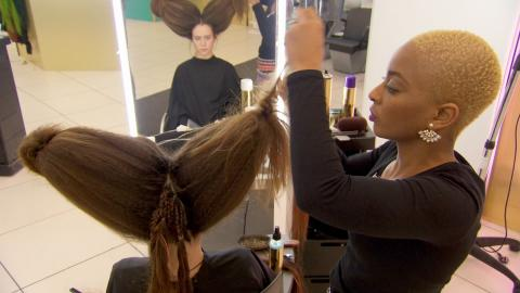 Antlers and horns in fantasy hair challenge: Hair: Series 2 Episode 5 - BBC Two