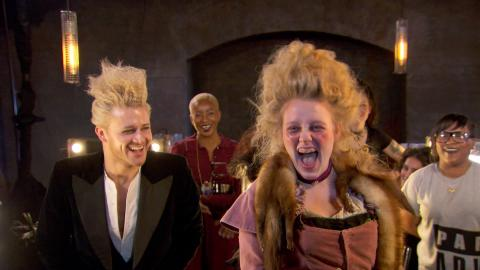 Scary hair for theatrical challenge - Hair: Series 2 Episode 6 - BBC Two