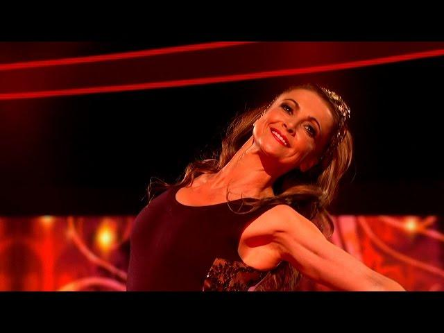 Emma Samms Floor Performance to 'Get The Party Started'  - Tumble: Episode 1 - BBC One