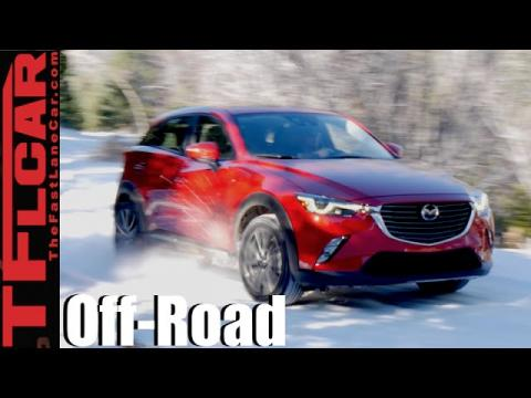 2016 Mazda CX-3 AWD Snowy Rocky Mountain Off-Road Review
