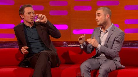 Daniel Radcliffe and James McAvoy on meeting fans – The Graham Norton Show: Episode 9 – BBC