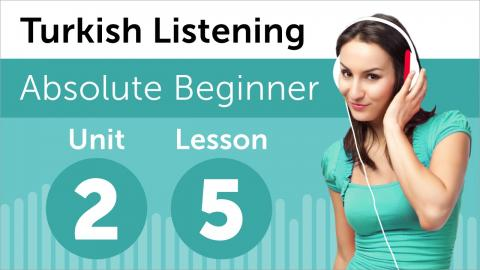 Turkish Listening Practice - Making Plans for the Day in Turkish