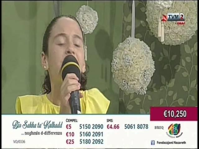 Veronica Rotin - Sorry Seems To Be The Hardest Word - Maratona Fondazzjoni Nazareth 2014
