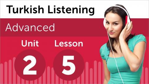 Turkish Listening Practice - Talking to a Supplier in Turkish