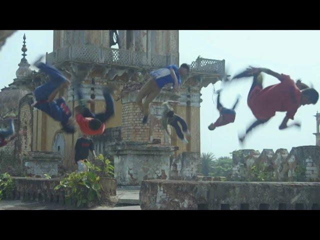 Parkour in the heart of India!