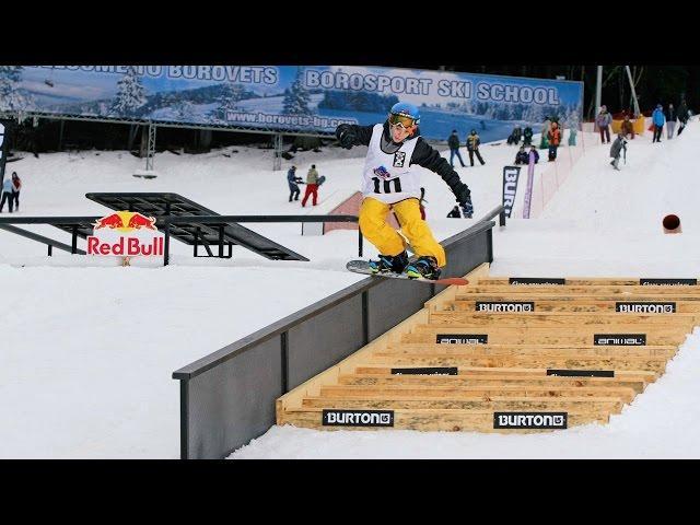 Snowboard Rail Jam in Bulgaria - Red Bull Fragments