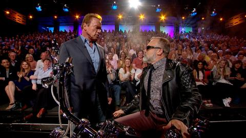 The Terminator introduces the show - The Graham Norton Show: Series 17 Episode 11 - BBC One