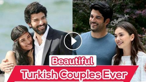 Top 10 Most Beautiful Couples In Turkish Drama Series | Must