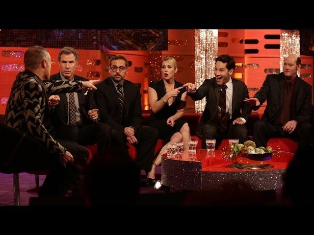 The Anchorman cast on the latest audience news - The Graham Norton Show: New Years Eve 2013 - BBC