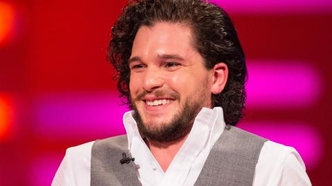 Kit Harington on a bus - The Graham Norton Show: Series 17 Episode 4 - BBC One