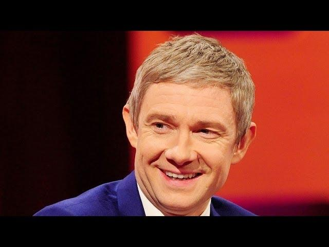 A Selfie with Martin Freeman - The Graham Norton Show: Episode 9 Preview - BBC One